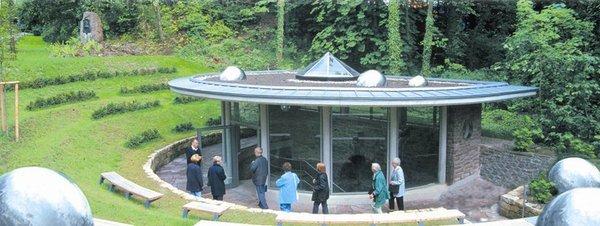 Beispiel für eine Mofette - die Dunsthöhle in Bad Pyrmont.